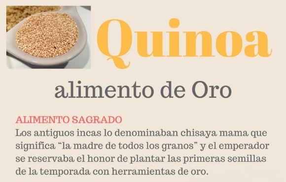 ¿Qué propiedades tiene la quinoa? Infografía y recetas con quinoa