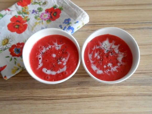 sopa fresas doble