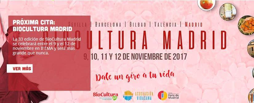 sorteo de entradas para biocultura madrid