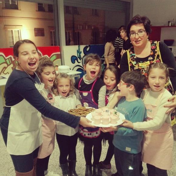clase de cocina con niños en La Rioja