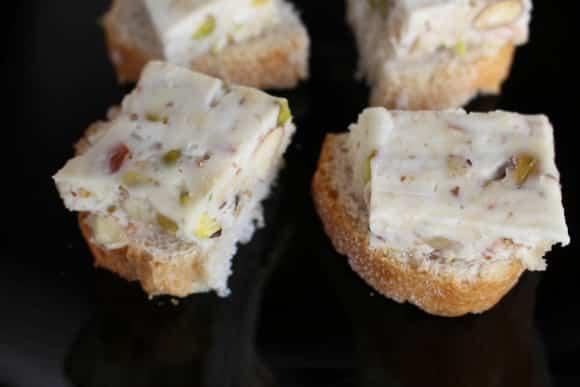 Receta de crujiente de camembert y frutos secos