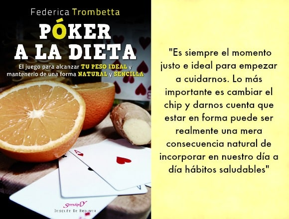 Federica Trombetta póker a la dieta