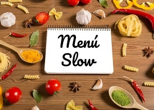 Menú Slow